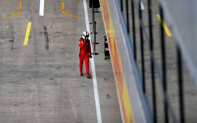 Sebastian Vettel hat bei Ferrari aktuell wenig Unterstützung