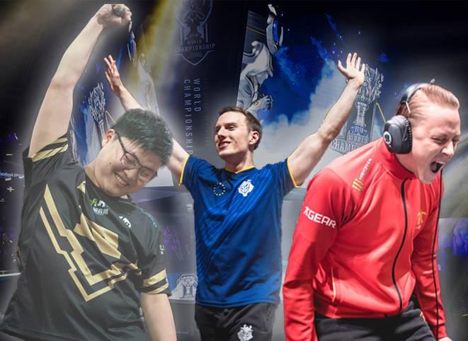 Das größte League of Legends-Turnier findet dieses Jahr in Korea statt. Diese 16 Teams konnten sich für das Main-Event qualifizieren und spielen einen Monat lang um die LoL-Krone. SPORT1 erklärt im Powerranking, wer Favorit und wer Underdog ist