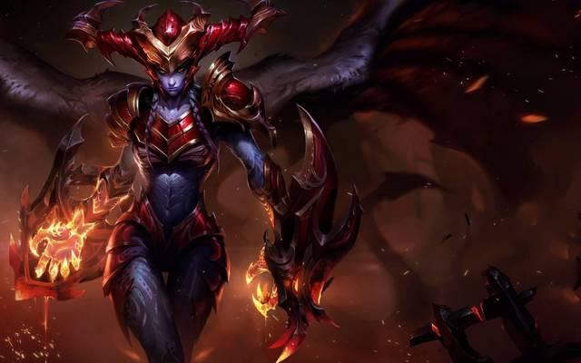 Der Halbdrache Shyvana wird einer von drei neuen Champions sein, die die neue Erweiterung für Legends of Runeterra mit sich bringt