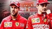 Sebastian Vettel (l.) und Charles Leclerc (r.) schieden nach einem Crash in Brasilien aus