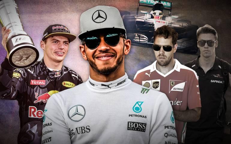 Mercedes dominiert, Hamilton stellt Rosberg in den Schatten. Debütant Verstappen verblüfft. Vettel und Ferrari haben große Probleme. SPORT1 zieht Halbzeitbilanz