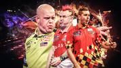 Darts-WM: Michael van Gerwen, Peter Wright und Dimitri Van den Bergh