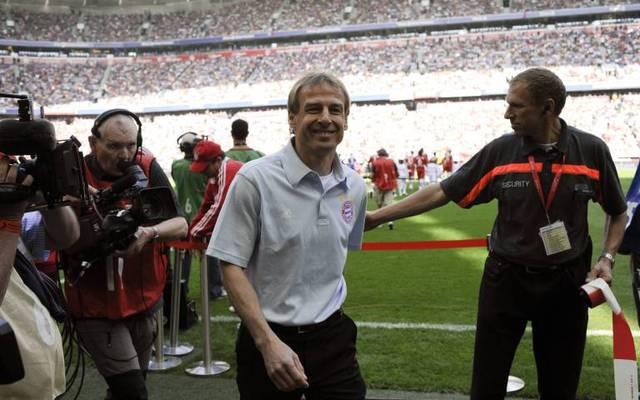 Der damalige Bayern-Trainer Jürgen Klinsmann