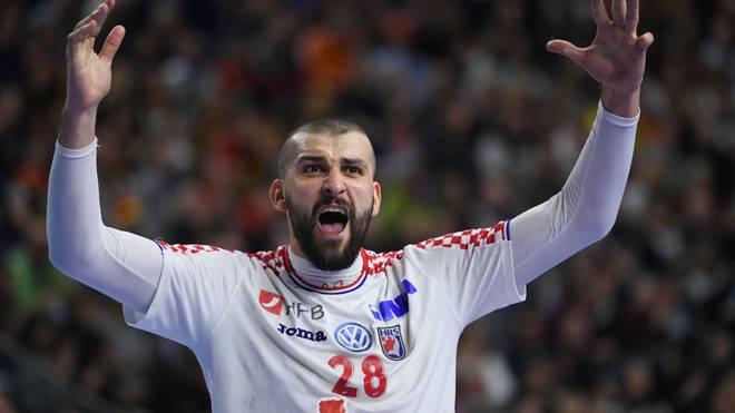 Bei der Handball-EM spielt Kroatien mit Zeljko Musa gegen Spanien um den Gruppensieg