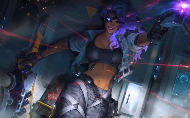Samira sorgte bei ihrem ersten Auftritt im Rift für reichlich Wirbel in der League-of-Legends-Community