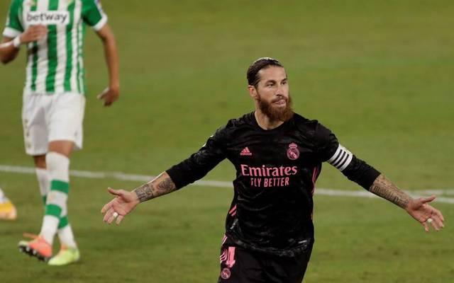 Sergio Ramos sicherte Real Madrid den Sieg gegen Betis Sevilla