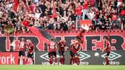 1. FC Nuernberg v 1. FSV Mainz 05 - Bundesliga