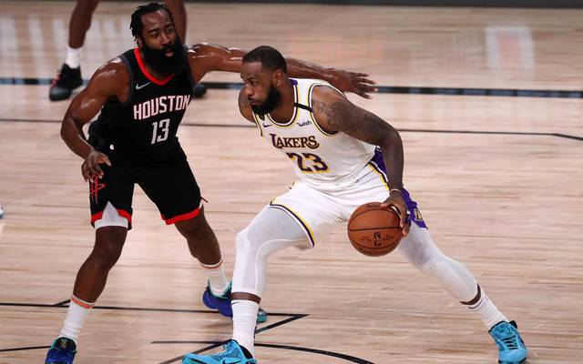 LeBron James und die Lakers lassen James Harden und den Rockets keine Chance