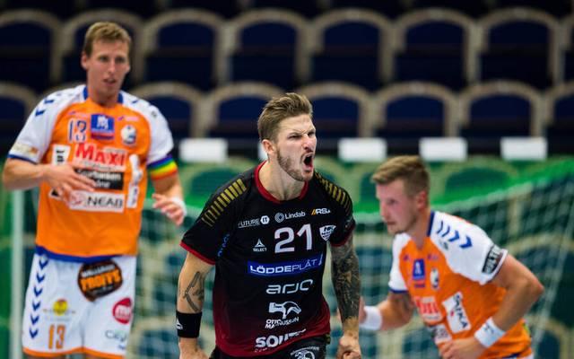 Hampus Olsson war in der abgelaufenen Saison mit 181 Toren in 31 Spielen Torschützenkönig und MVP in der schwedischen Liga