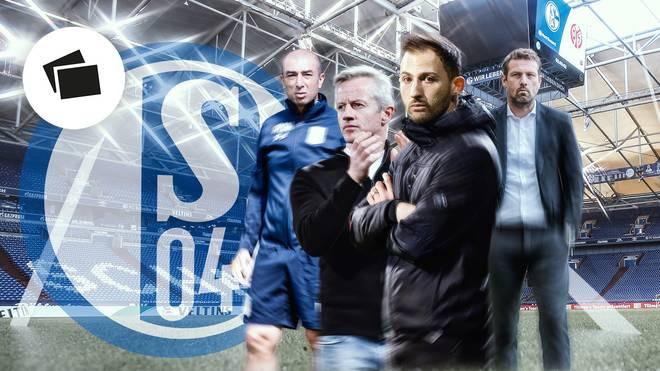 SPORT1 zeigt die Schalke-Trainer aus diesem Jahrtausend