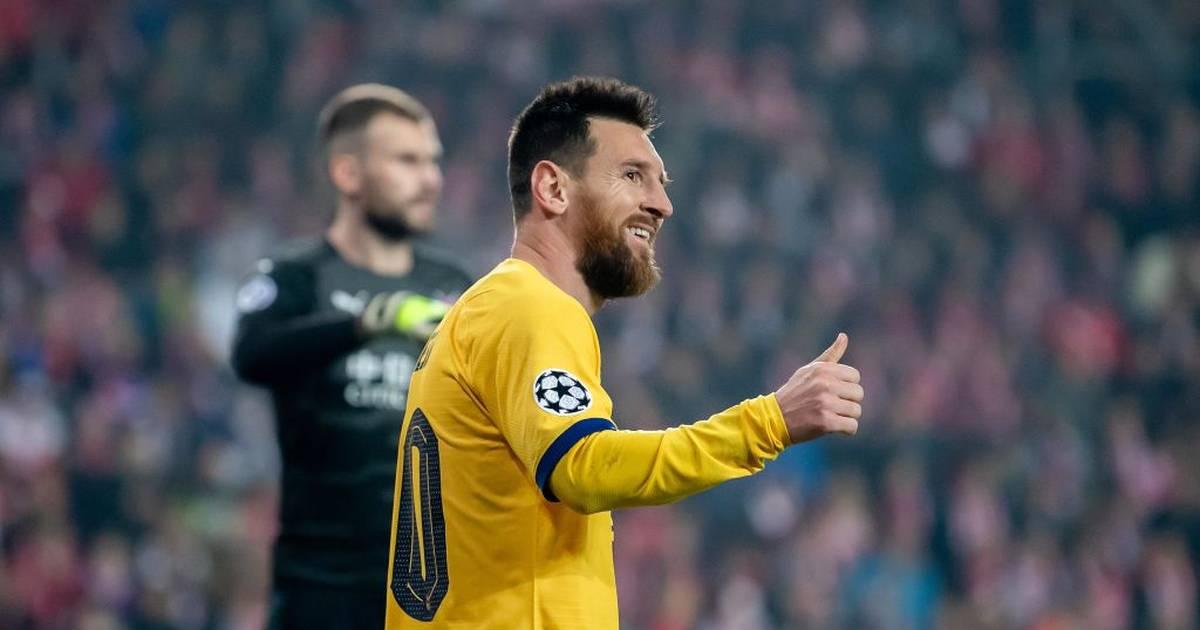 FC Barcelona: Lionel Messi schwärmt von Ronaldo Nazario und Ronaldinho - SPORT1