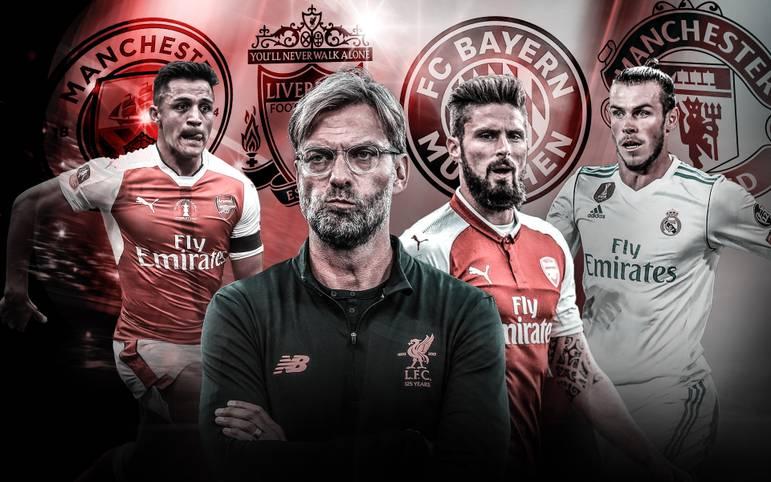 Blutauffrischung oder Transferstopp: Was planen die Top-Klubs in Europa? SPORT1 gibt einen Überblick über mögliche Wintertransfers von Real, Liverpool, Juventus, PSG, Bayern und Co.