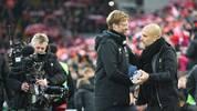Jürgen Klopp und Pep Guardiola - der Vergleich