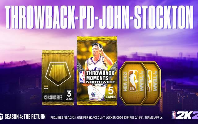 Die Northwest Division wird präsentiert von John Stockton