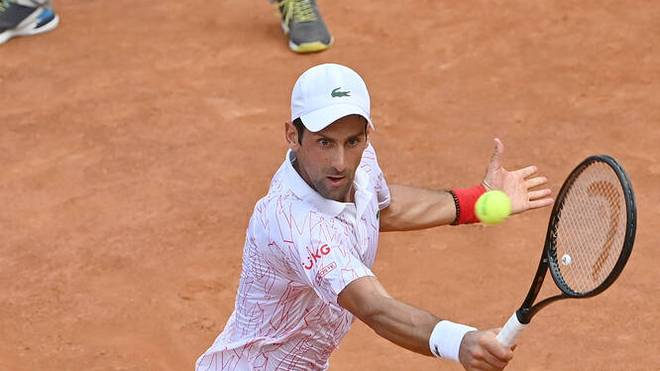 Novak Djokovic peilt den Turniersieg in Rom an