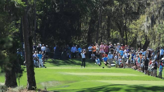 Bilder wie dieses wird es von der PGA Golf-Tour bis auf weiteres nicht geben