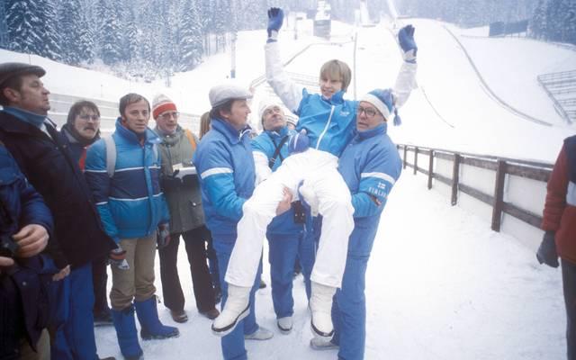 Matti Nykänen gewann alle wichtigen Wettbewerbe im Skispringen