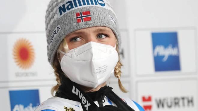 Maren Lundby hatte sich für das Skifliegen der Frauen eingesetzt