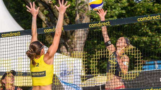 Kira Walkenhorst (re.) und Laura Ludwig (li.) spielten früher gemeinsam