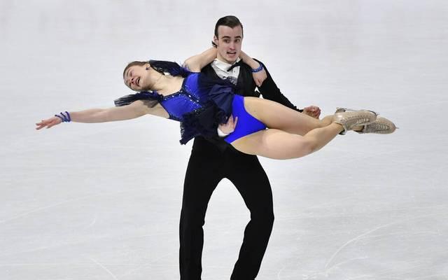 Katharina Müller and Tim Dieck kämpften sich ins Finale