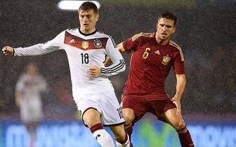 Toni Kroos erzielte seinen neunten Länderspieltreffer