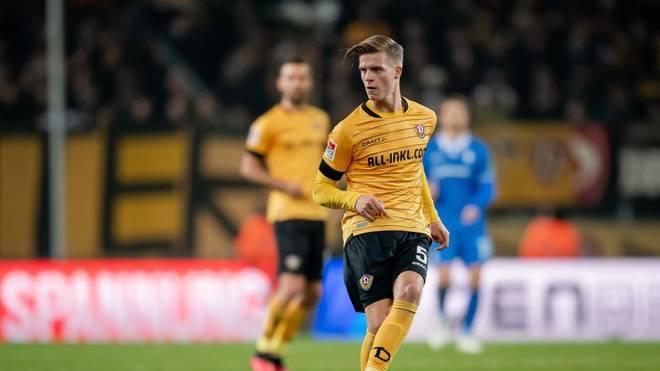 Dzenis Burnic absolvierte in dieser Saison 22 Einsaätze in der 2. Bundesliga für Dynamo Dresden