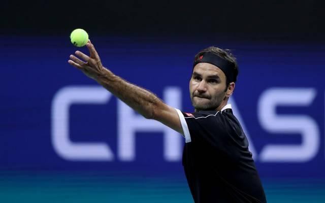 Roger Federer kämpft bei den US Open um den Einzug in Runde drei