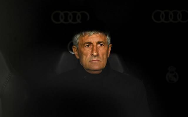 Quique Setién steht beim FC Barcelona unter Druck