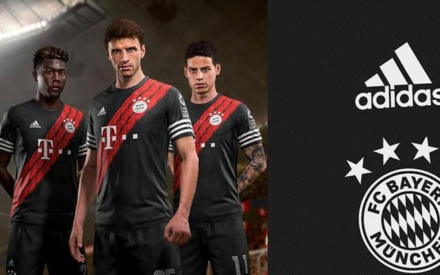Bei FIFA 18 spielte auch James Rodríguez (r.) noch bei den Bayern