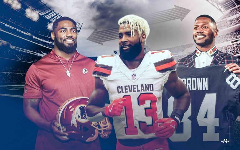 Zweifelsohne ein interessanter Wechsel, der die NFL durcheinander wirbelt: Megastar Odell Beckham Jr. wechselt zu den Cleveland Browns. Auch das ewige Drama um Antonio Brown ist beendet. SPORT1 fasst die wichtigsten Deals der Free-Agency-Phase zusammen