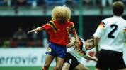 ITA: World Cup 1990 - Colombia v Germany