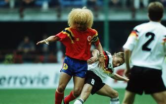 Fussball Wm 1990 Weltmeister Thomas Hassler Versteigert Final