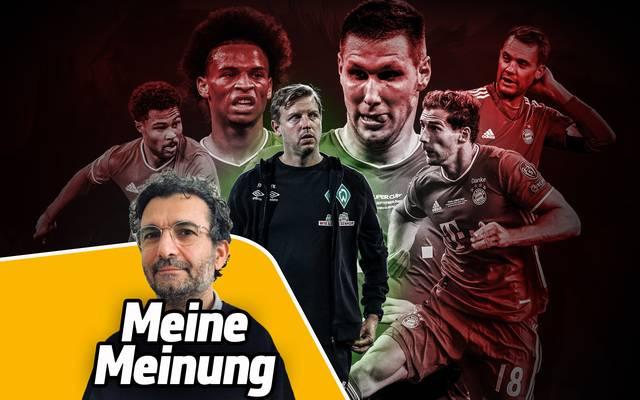 Alex Steudel geht von einem klaren Bayern-Sieg gegen Bremen aus