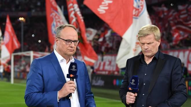 Oliver Welke (l.) begleitete mit Oliver Kahn zusammen viele Fußballübertragungen im ZDF
