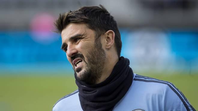 David Villa spielte zwischen 2015 und 2018 für New York