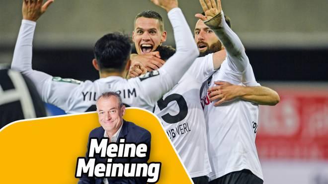 Der SC Verl mischt die 3. Liga auf