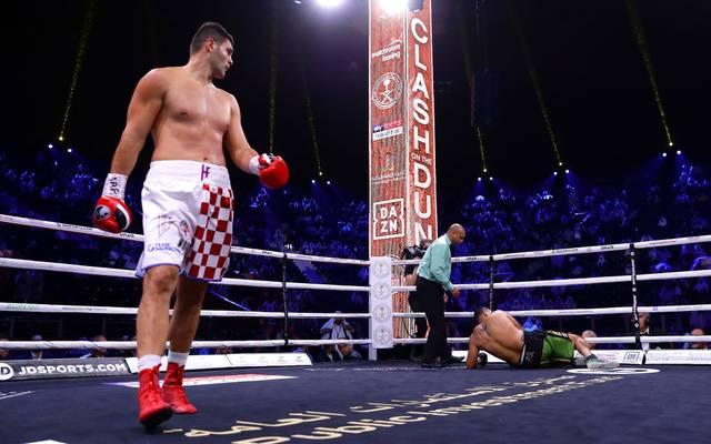 Flip Hrgovic schlug Eric Molina K.o.
