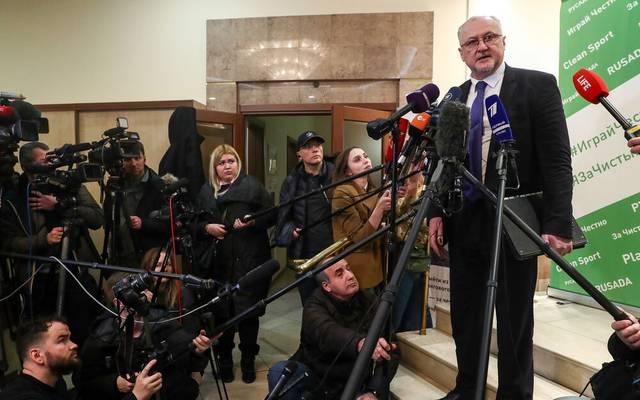 Jurij Ganus muss bei der russischen Anit-Doping-Agentur seinen Hut nehmen