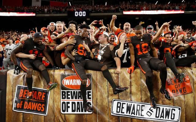 Die Fans der Cleveland Browns sind voller Vorfreude auf die neue Saison