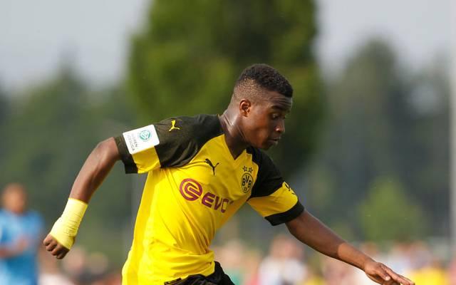 Youssoufa Moukoko trifft in der A-Junioren-Bundesliga, wie er will