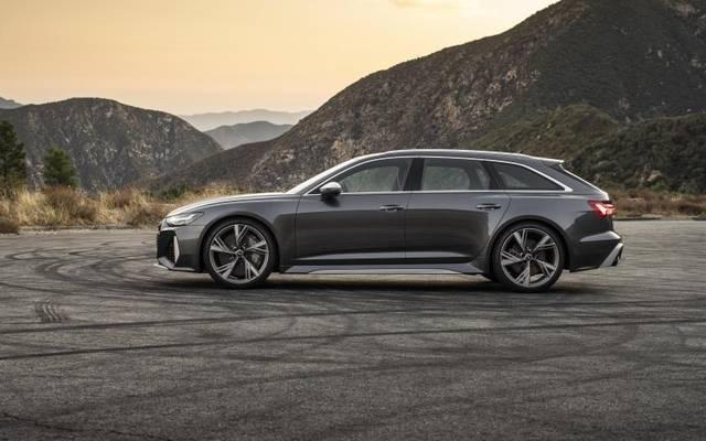 Mit einer Länge von fünf Metern bietet der Audi RS6 Avant viel Platz für Insassen und Gepäck