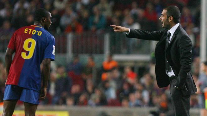 Eto´o mag Guardiola als Mensch nicht
