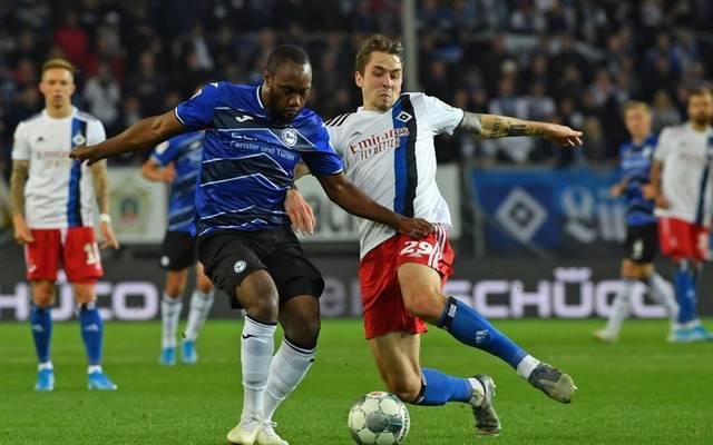 Der Hamburger SV will den Rückstand auf die Arminia verkürzen
