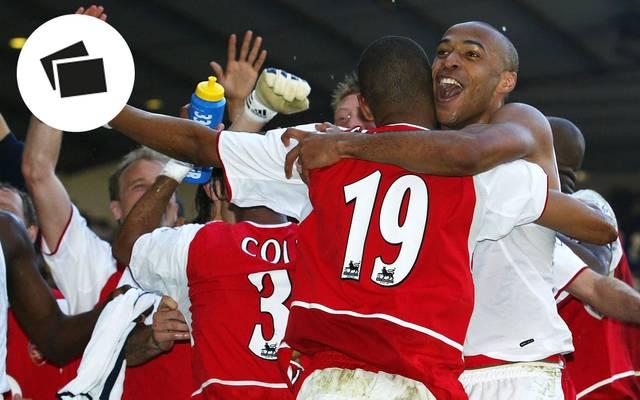 Thierry Henry wurde 2004 mit dem FC Arsenal ungeschlagen Meister