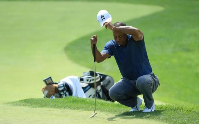 Tiger Woods leidet immer wieder an Rückenbeschwerden