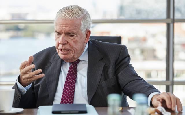 Klaus-Michael Kühne ist seit vielen Jahren Investor beim HSV