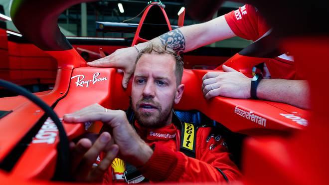 Sebastian Vettel kommt mit seinem Ferrari aktuell nicht weit