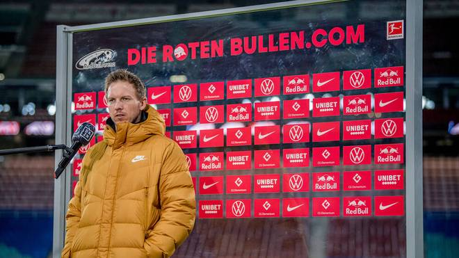 Julian Nagelsmann trifft mit RB Leipzig auf den VfB Stuttgart
