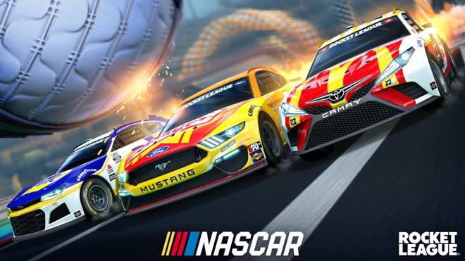 Rocket League: Fans über NASCAR-Update enttäuscht