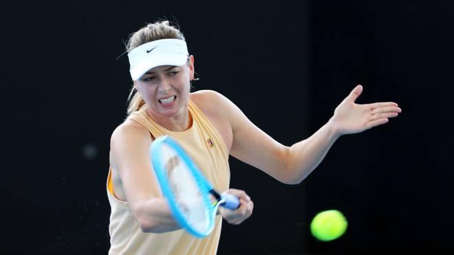 Maria Scharapowa nimmt am Turnier in Brisbane teil